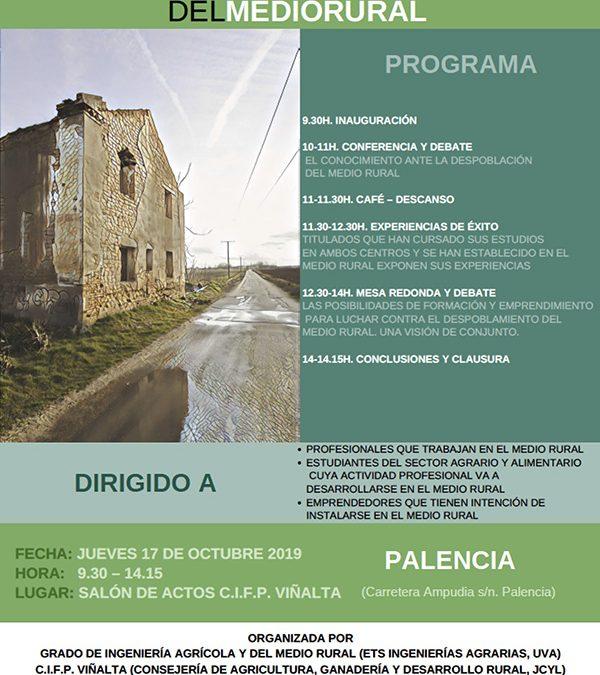 Jornada sobre formación frente a despoblación rural