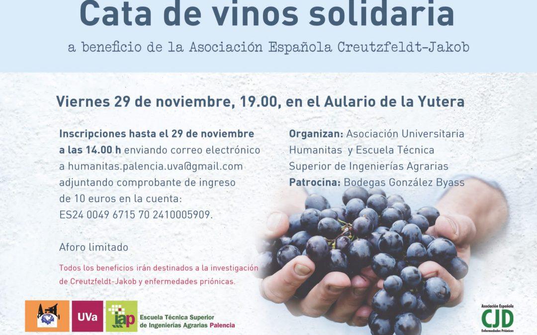 Cata de vinos solidaria a beneficio de la Asociación Española Creutzfeldt-Jakob