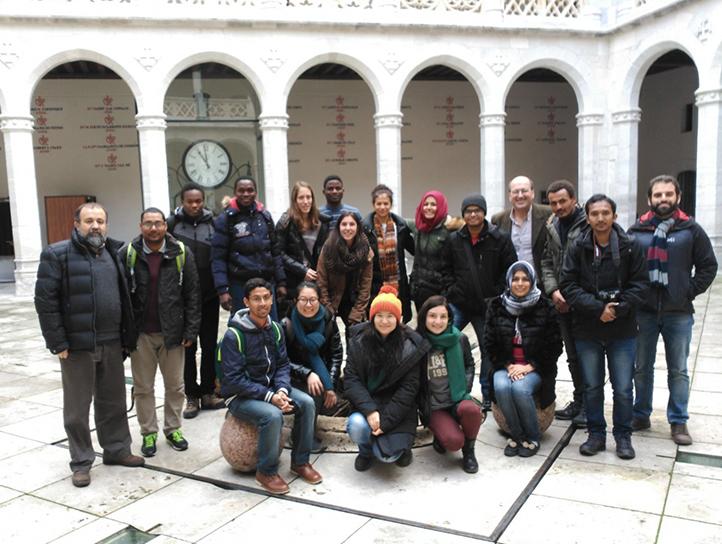 Comienza la ya tradicional Winter School del Master Erasmus Mundus MEDfOR.
