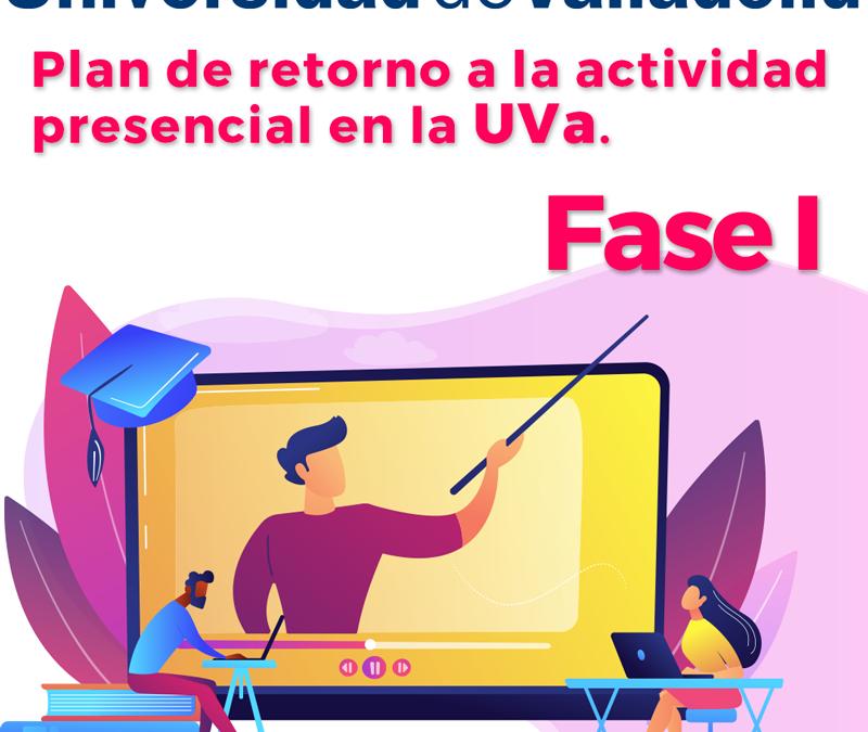 Comienza el Plan de Retorno en la Universidad de Valladolid