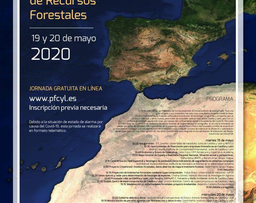Éxito absoluto de participación en la II Jornada en innovación en la cartografía e inventarios de recursos forestales