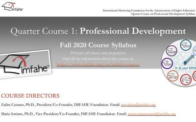 La UVa y la Fundación IMFAHE ofrecen un programa de cursos de formación en inglés y online