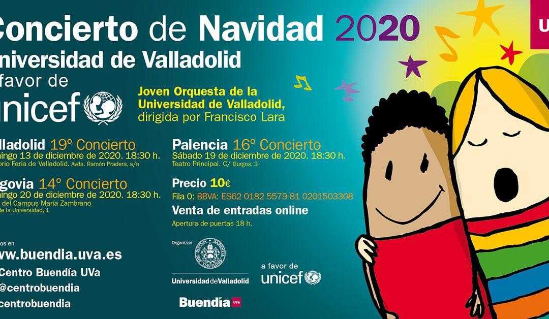 Concierto de Navidad 2020. Universidad de Valladolid