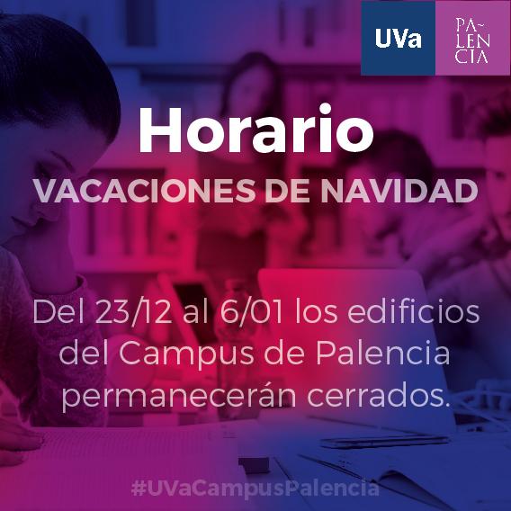 Horarios Campus de Palencia