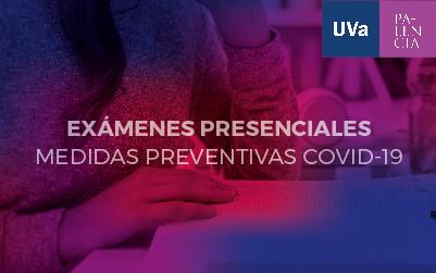 Medidas preventivas contra el COVID-19 para la realización de exámenes presenciales durante el curso 2020-21