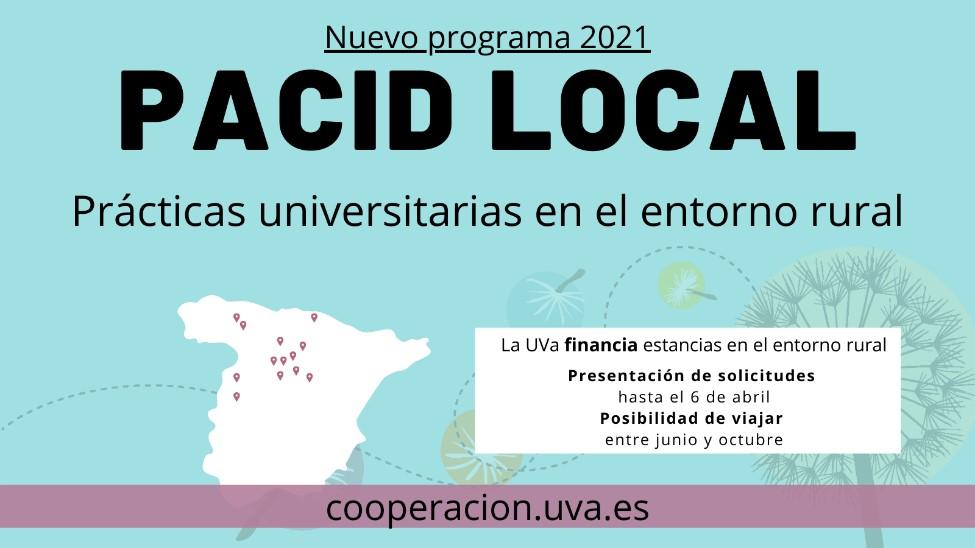 La UVa lanza el programa 'PACID Local': prácticas universitarias en ONG del entorno rural.