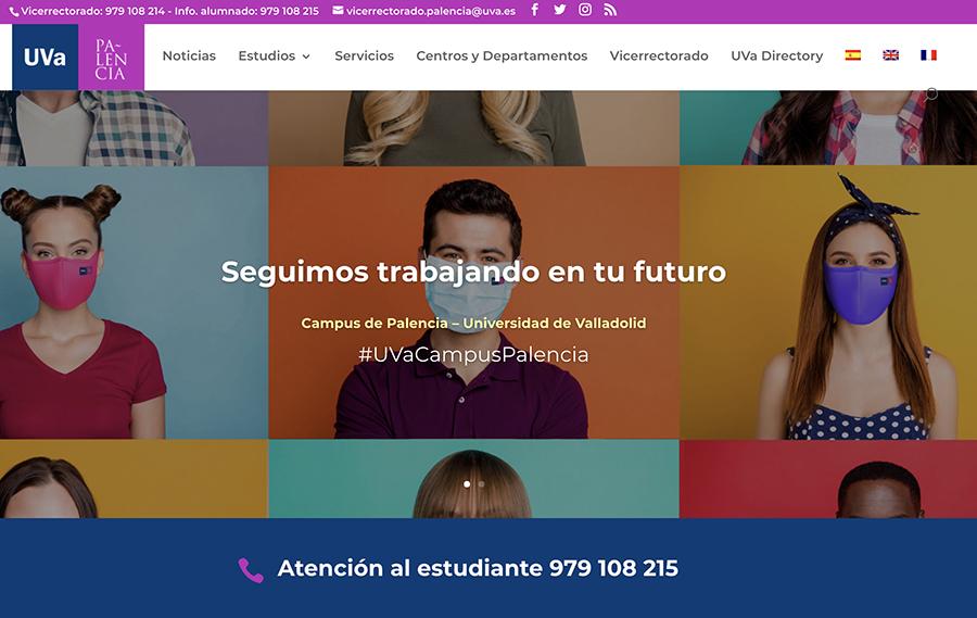 La página web del Campus de Palencia alcanzó los 15.495 usuarios el año pasado