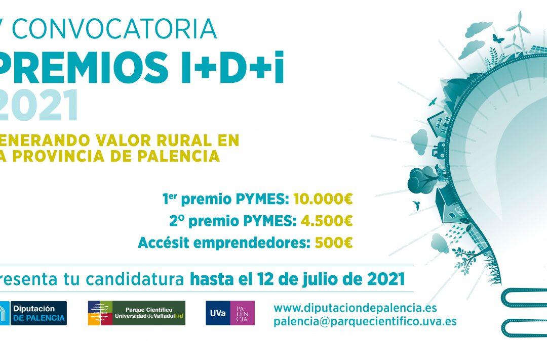 El Parque Científico de la UVa y la Diputación de Palencia premian la innovación y el emprendimiento