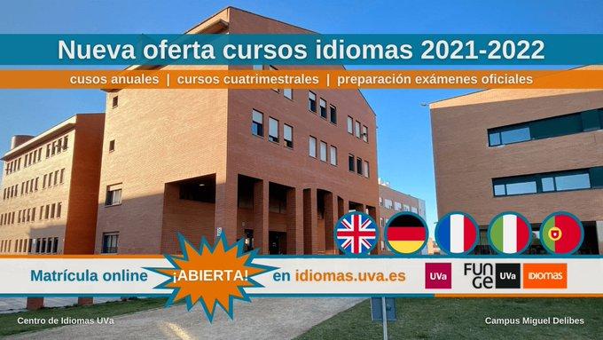 Nueva oferta y formato de cursos de idiomas para el año académico 21/22