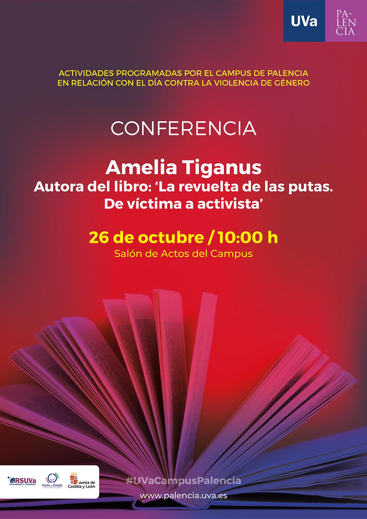 Conferencia-Amelia-Tiganus-Campus-Palencia